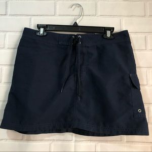 Vineyard Vines Dark Navy Blue Midi Skirt